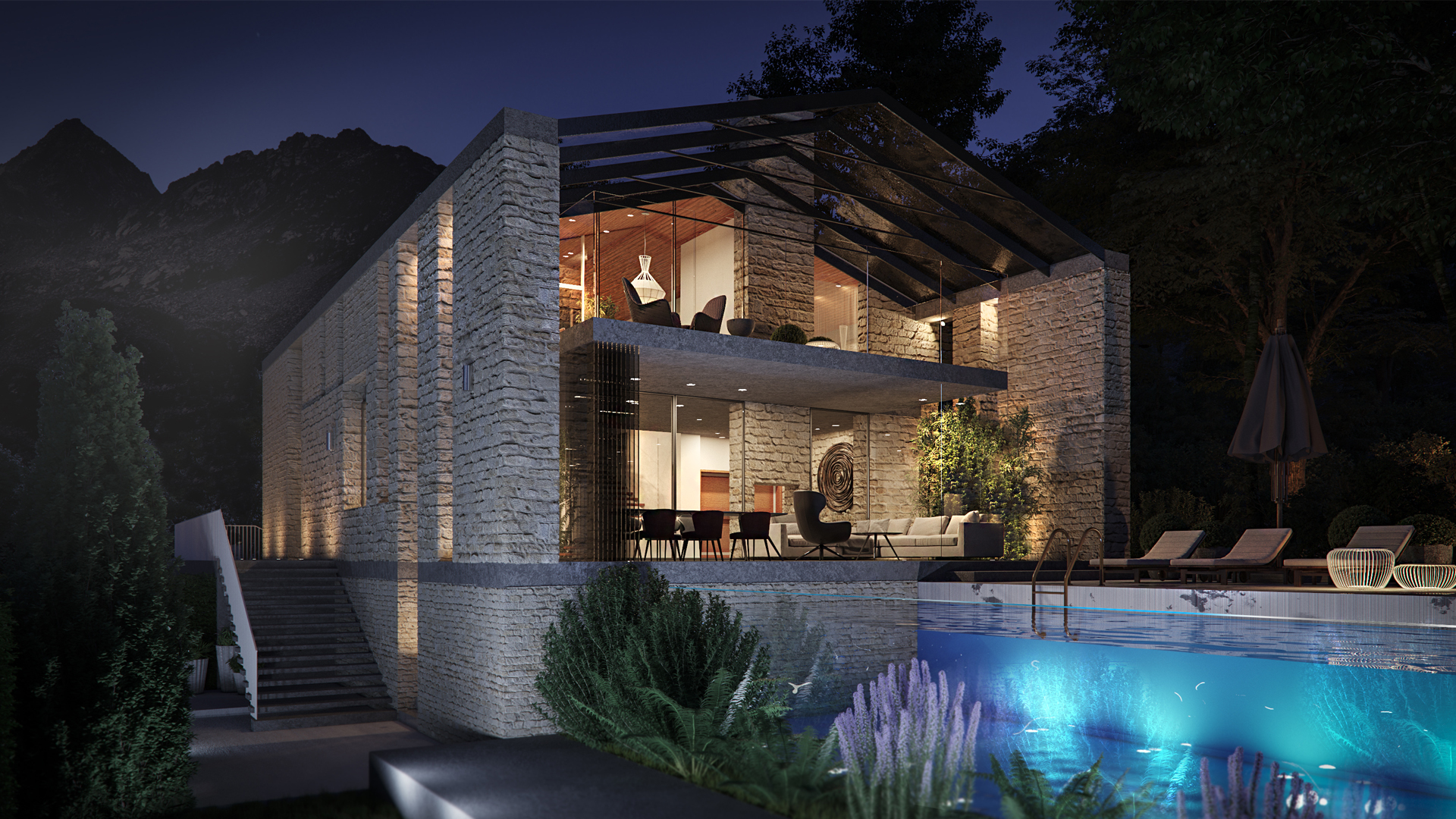 house project in Montenegro