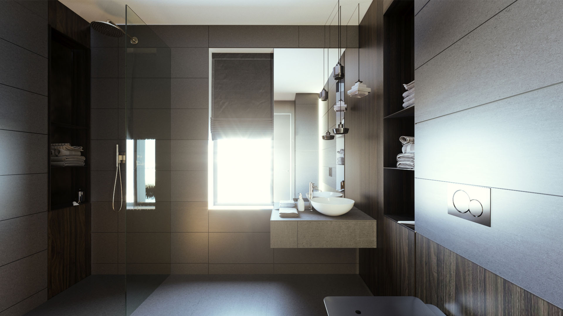 guest bathroom interior
