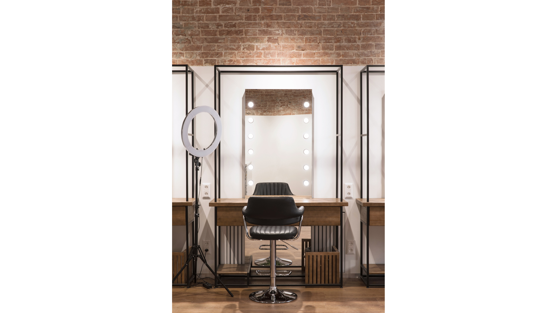 beauty salon interior design photo