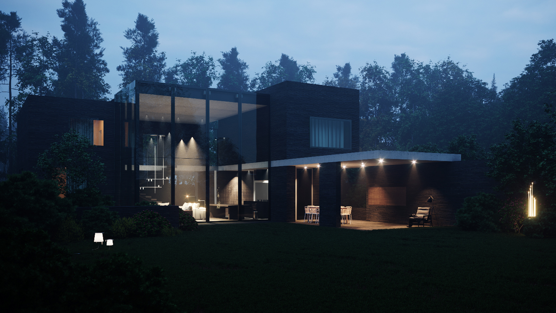 house project in Moscow