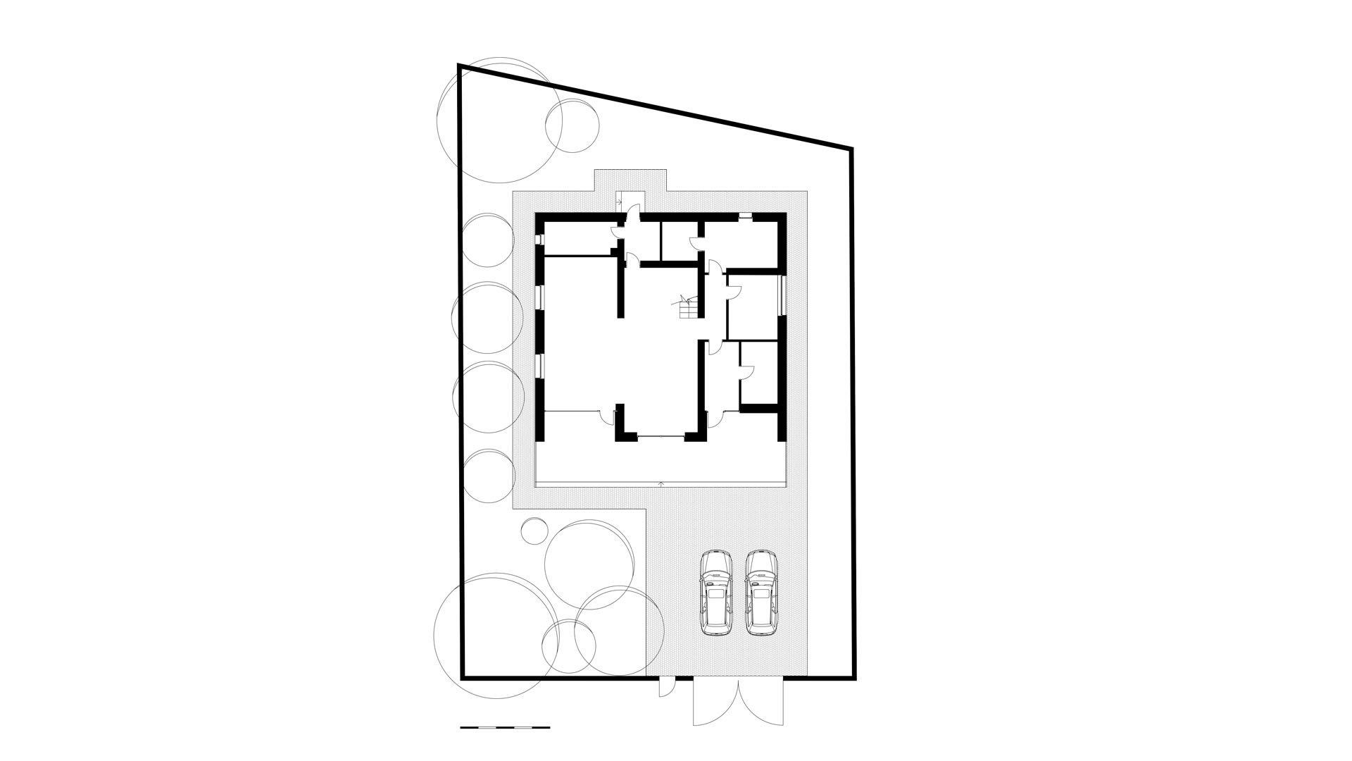 the plan of the house in Rostov