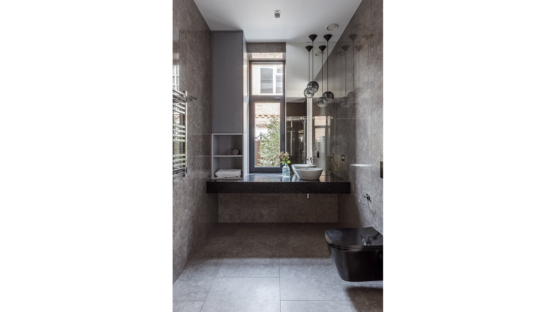 design of a combined bathroom