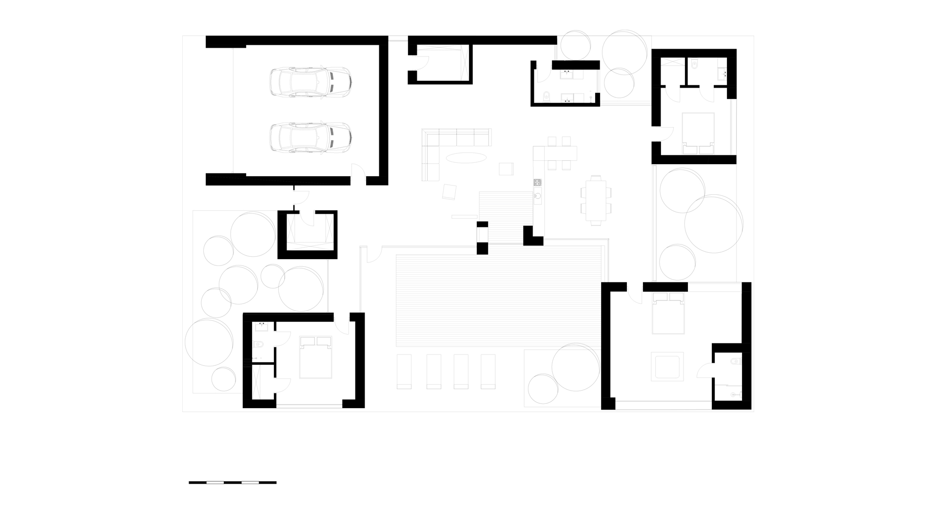 the construction plan of the house in Rostov