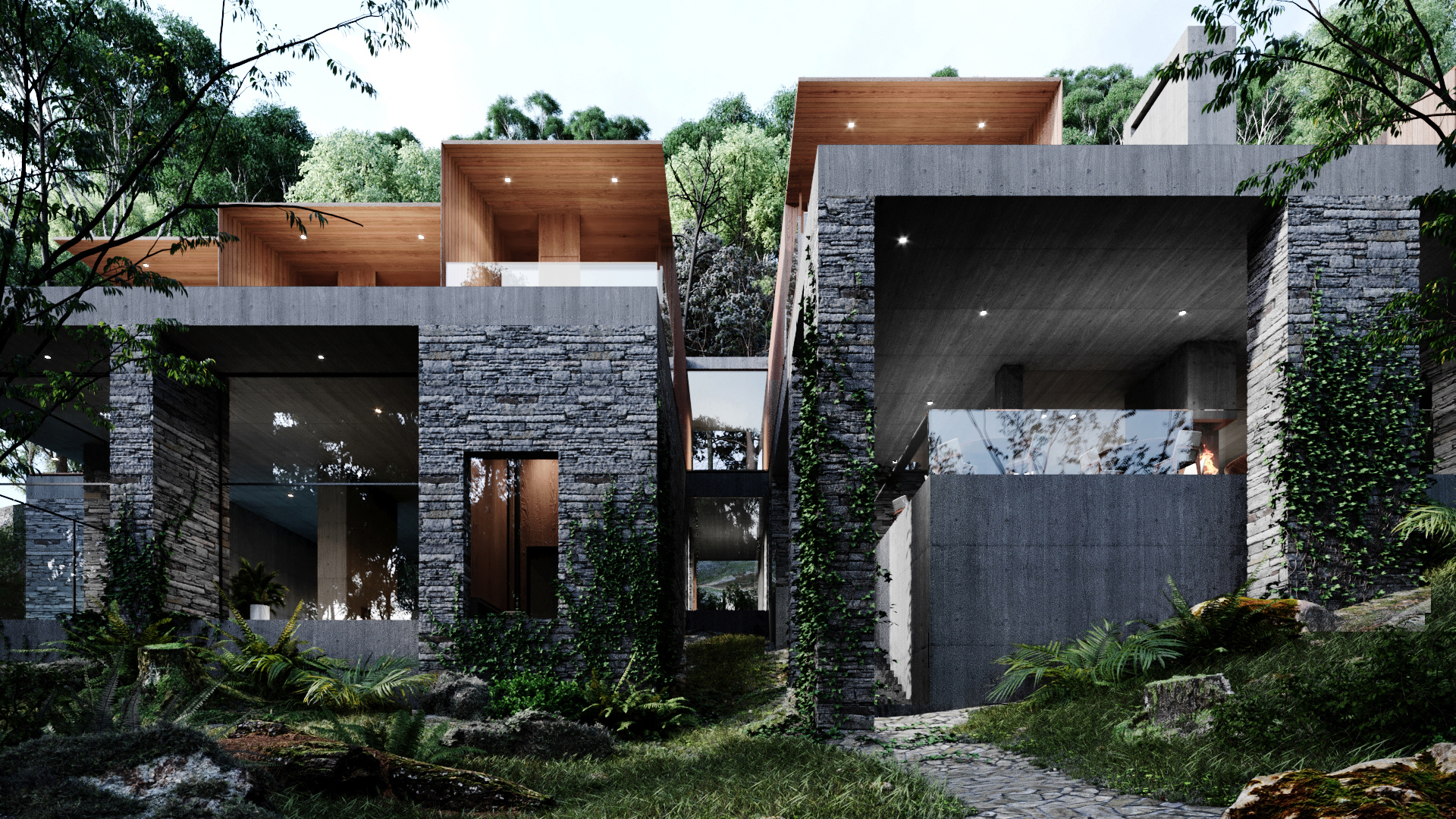 modern architecture project