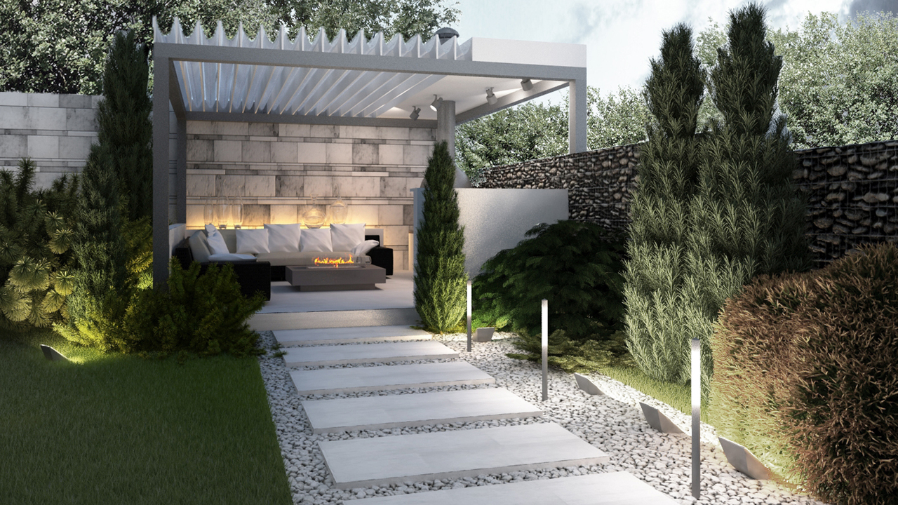 house with landscaping Rostov