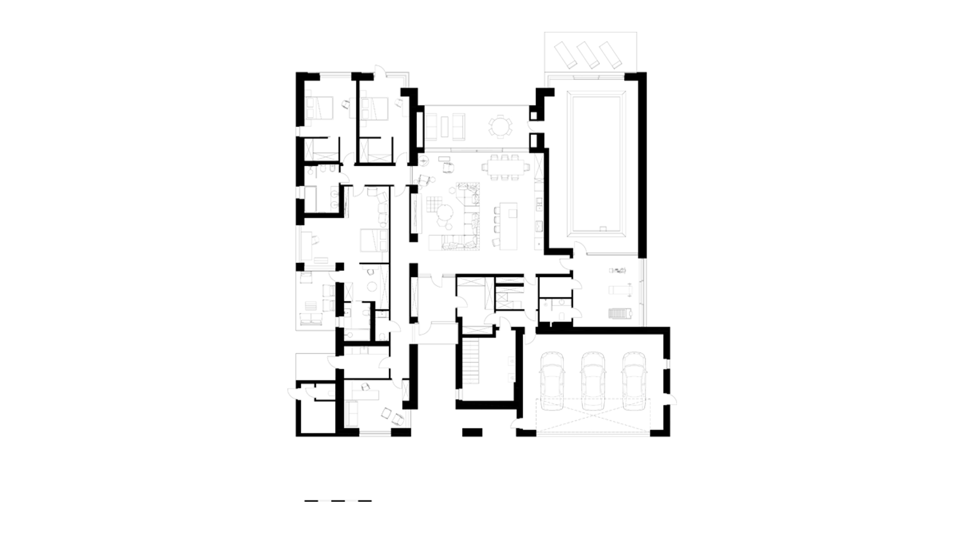 the layout of the house