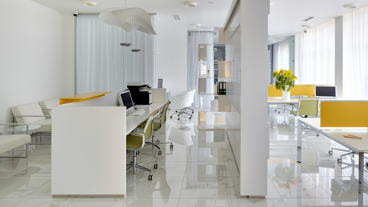 Interior Project Of The Dry Cleaners Offices In The Moscow Region Chado Architecture Studio